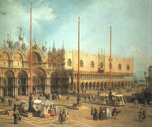 Piazza San Marco Looking Southeast